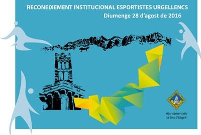La Seu d'Urgell celebra en plena Festa Major un reconeixement als esportistes de la ciutat