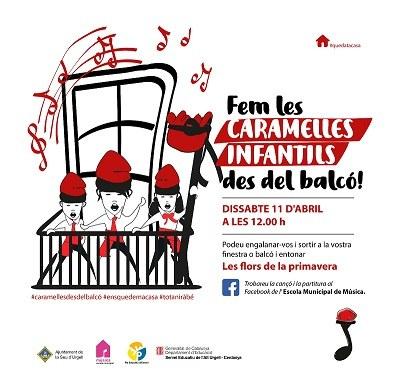 La Seu d'Urgell celebrarà aquest dissabte les Caramelles Infantils des de finestres i balcons