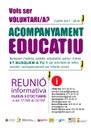 La Seu d'Urgell cerca voluntaris per al projecte d'acompanyament educatiu d'aquest curs