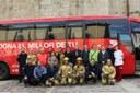 La Seu d'Urgell inaugura la campanya 'Els Bombers t'acompanyen a donar sang'