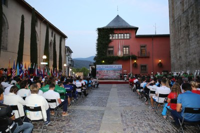 La Seu d'Urgell inaugura la final de la Copa del Món de Canoe Eslàlom