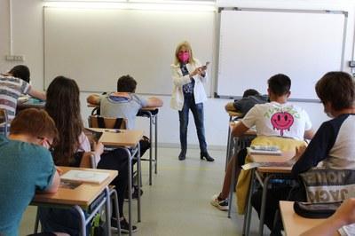 La Síndica Municipal de Greuges de la Seu d'Urgell difon la seva tasca a l'Institut La Valira