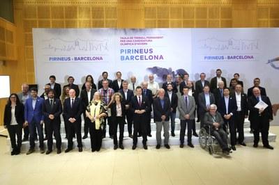 La Taula de Treball Permanent per una Candidatura Olímpica d'Hivern Pirineus-Barcelona continua treballant amb l'horitzó del 2030