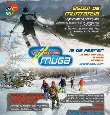 La Unió Excursionista Urgellenca ho té tot a punt per celebrar la 6a Traça Muga