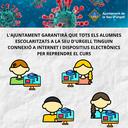 L'Ajuntament de la Seu d'Urgell garantirà que tots els alumnes escolaritzats a la ciutat tinguin connexió a Internet i dispositius electrònics per reprendre el curs