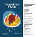L'Ajuntament de la Seu d'Urgell promou el consum de mones de Pasqua malgrat la crisi del coronavirus