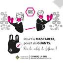 L'Ajuntament de la Seu d'Urgell aconsella l'ús de mascaretes per a la població en general quan se surt de casa