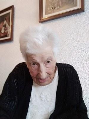 L'Ajuntament de la Seu d'Urgell felicita a la padrina alturgellenca Elvira Besolí Grau que avui fa 100 anys