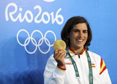 L'Ajuntament de la Seu d'Urgell homenatja Maialen Chourraut per l'Or als Jocs de Rio