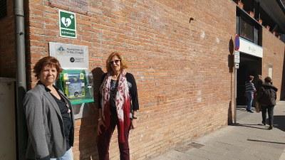 L'Ajuntament de la Seu d'Urgell instal·la un desfibril·lador a l'Esplai de la Gent Gran