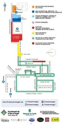 L'Ajuntament habilita diversos aparcaments gratuïts per la Fira de Sant Ermengol