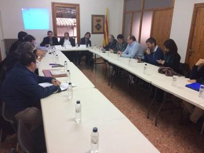 L'alcalde de la Seu d'Urgell participa en la primera sessió de la comissió de seguiment de les obres del nou túnel de Tresponts