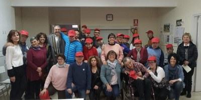 L'alcalde de la Seu d'Urgell visita el Taller Claror per agrair la seva col·laboració en el Tió de la Freita