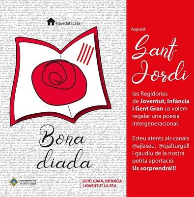 Lectura intergeneracional de poesia per commemorar el Dia del Llibre