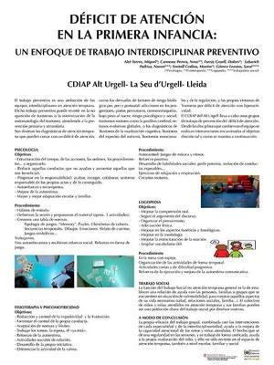 L'equip del CDIAP del Consorci d'Atenció a les Persones de l'Alt Urgell present al congrés sobre atenció precoç i salut infantil d'Elx
