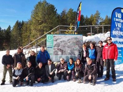 Les estacions d'esquí nòrdic de l'Alt Urgell i la Cerdanya presenten el pla Nordicat