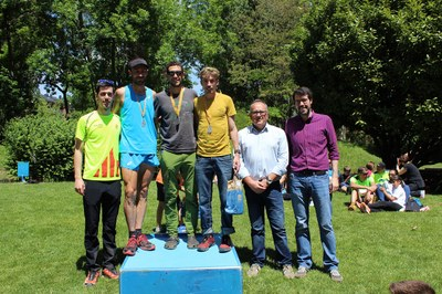 L'Escanyabocs 2017 es posa en marxa amb la cursa trail amb la participació de 298 corredors