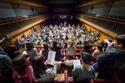 L'Escola Municipal de Música torna a participar en el tradiconal Concert de Santa Cecília d'Andorra