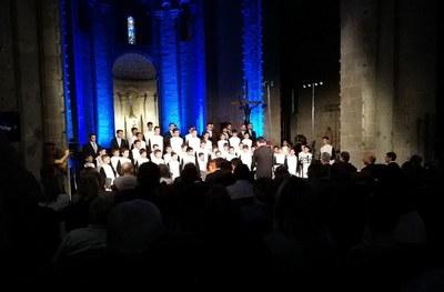 L'Escolania i la Capella de Montserrat obren el FeMAP 2018 a la catedral de la Seu d'Urgell