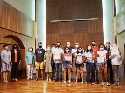 Lliurats els guardons del 5è premi Joles Sennell de contes infantils