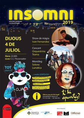 Màgia, concert de folk i humor inauguren el programa d'oci nocturn alternatiu Insomni de la Seu d'Urgell