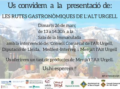 Menja't l'Alt Urgell estrena nou projecte i pàgina web