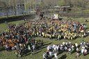 Més de 1.300 participants fan que la Seu esdevingui amb èxit la capital catalana del Dia Mundial de l'Activitat Física