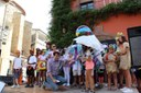 Més de 150 nens i nenes dels casals d'estiu de la Seu i comarca obren la Festa Major 2018 amb el pregó infantil