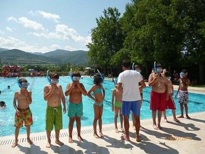 Més de 200 nens i joves gaudeixen de les activitats esportives d'estiu