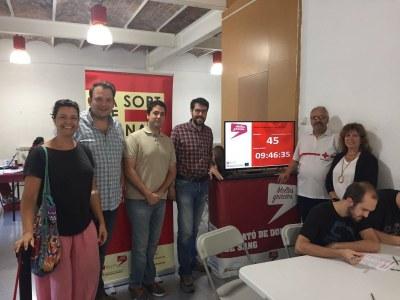 Més de 200 participants a la Marató de donació de sang a la Seu d'Urgell