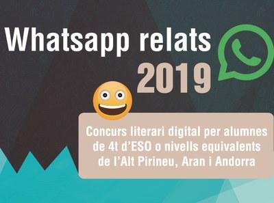 Més de 500 alumnes de l'Alt Pirineu i Andorra participaran en el Concurs de WhatsApp Relats