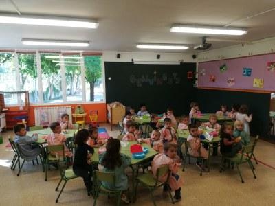 Normalitat en el primer dia del nou curs escolar als centres educatius de la Seu d'Urgell