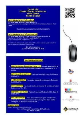 Nous tallers de competències digitals al Punt Òmnia de la Seu d'Urgell