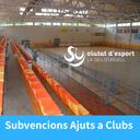 Nova convocatòria per a sol·licitar subvencions adreçades a clubs esportius de la Seu d'Urgell
