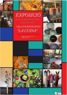 Oberta l'exposició dels i les alumnes de l'Escola Municipal d'Art a la sala 'la Cuina'