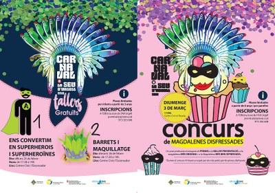 Obertes les inscripcions pels dos tallers gratuïts i un concurs de cuina relacionats amb el Carnaval