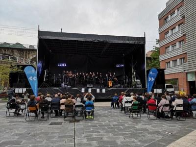Participació dels cors del Conservatori de Música dels Pirineus al Festival E-Musik de Donòstia