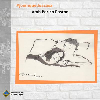 Perico Pastor ens regala un nou dibuix que ens convida a descansar