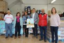PEUSA lliura 3.860 quilos d'aliments i productes higiènics de primera necessitat al projecte Aliments per la Soliditat de l'Alt Urgell