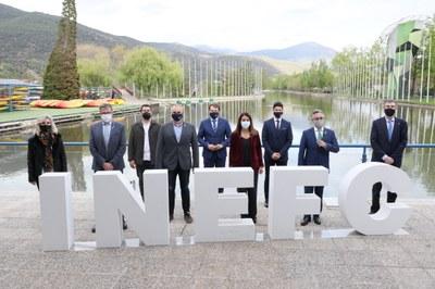 Presentat el nou centre INEFC Pirineus de la Seu d'Urgell amb l'objectiu d'apostar per la formació especialitzada, mantenir l'alt nivell de l'esport de muntanya i dinamitzar el territori