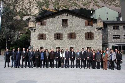 Presentació a Andorra del projecte de candidatura a Patrimoni Mundial de la UNESCO, que inclou la Catedral de la Seu d'Urgell