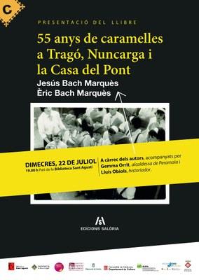 """Presentació del llibre """"55 anys de caramelles a Tragó, Nuncarga i la Casa del Pont"""" dels germans Jesús i Èric Bach Marquès"""