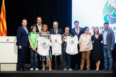 Presentació dels Jocs Special Olympics 2018 al Palau de la Generalitat de Catalunya