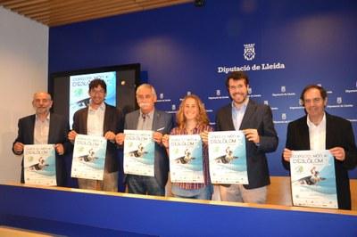 Presentada la Copa del Món de Canoe Eslàlom de la Seu d'Urgell