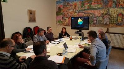 Primera reunió de treball del Comitè Organitzador dels Jocs Special Olympics 2018 la Seu-Andorra la Vella