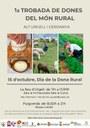 Primera Trobada de Dones del Món Rural de l'Alt Urgell i la  Cerdanya