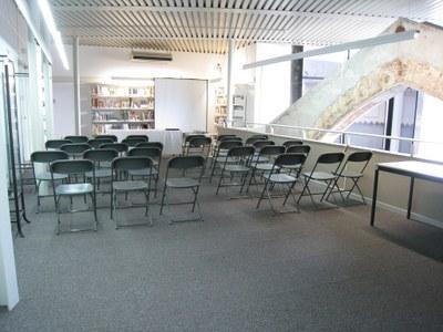 Projecte per insonoritzar la planta quarta de la Biblioteca Sant Agustí