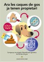 Realitzades 187 extraccions de sang durant el primer mes de la campanya d'identificació genètica dels gossos del municipi