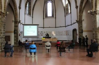 Reunió amb voluntaris i voluntàries de l'etapa de la 100 Volta Ciclista Catalunya al seu pas per la Seu d'Urgell