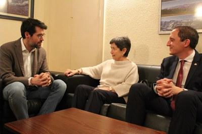 Reunió de l'alcalde de la Seu d'Urgell amb la Delegada del Govern a Catalunya